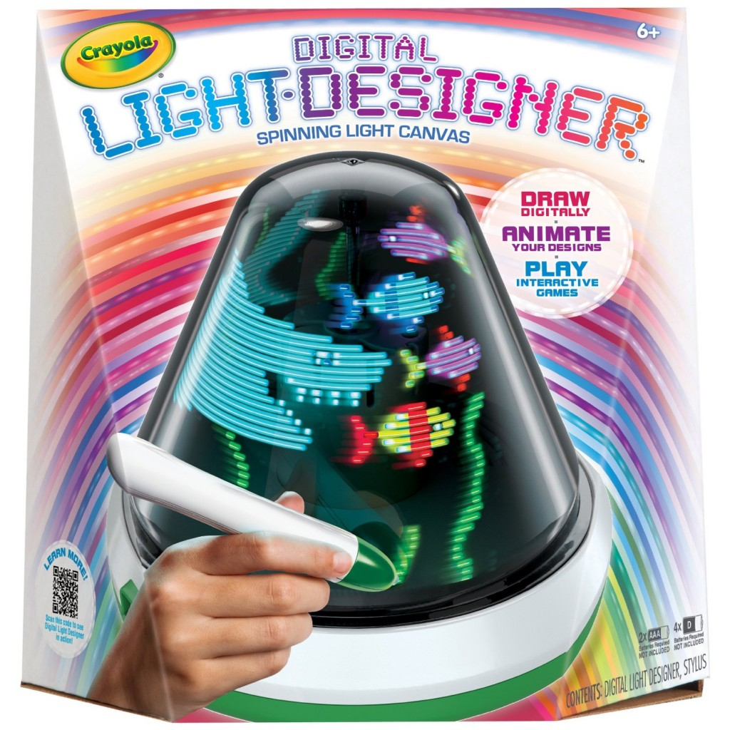 Cool New Toys For Christmas : Crayola digital light designer art games for kids