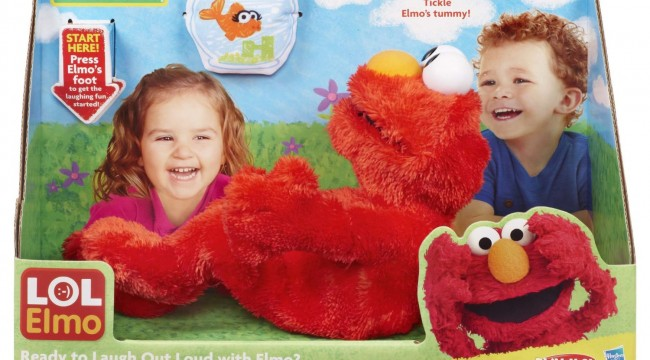 LOL Elmo Doll