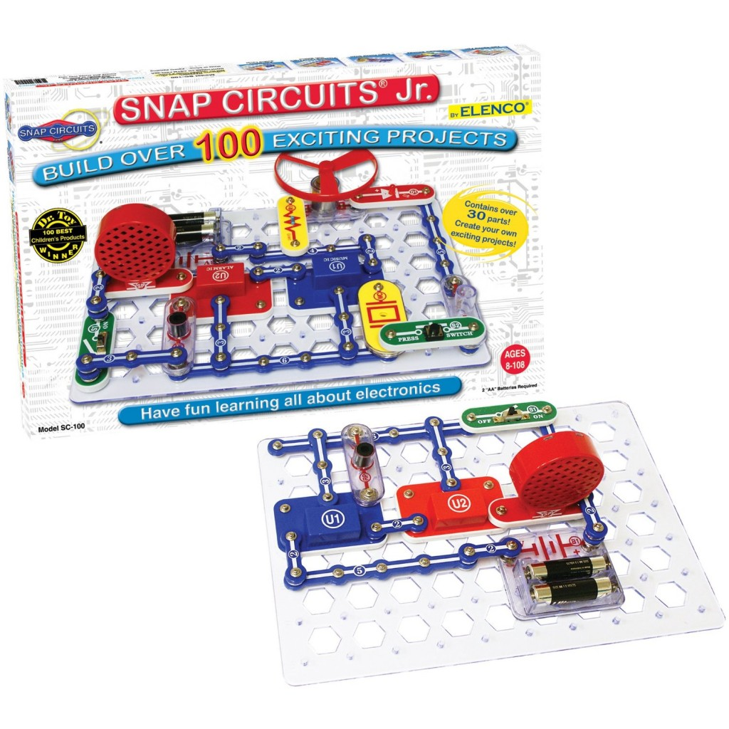Cool Electronic Toys : Snap circuits cool electronics for kids shopulace