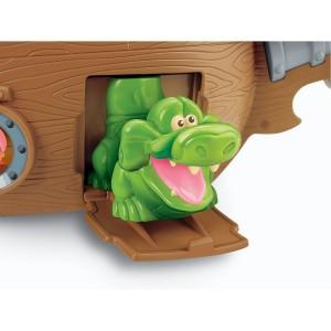Fisher-Price pirate ship tick tock crock
