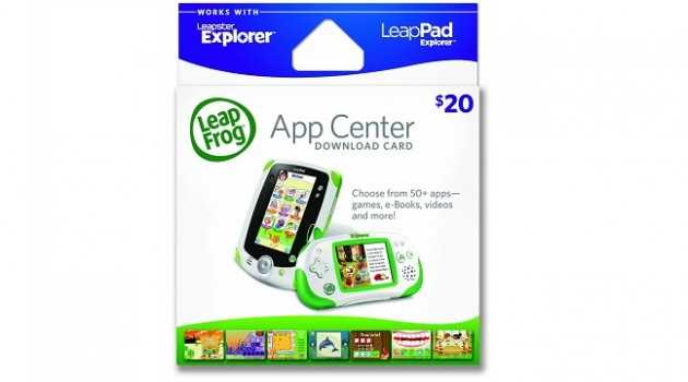 Leapfrog App Center Download Card