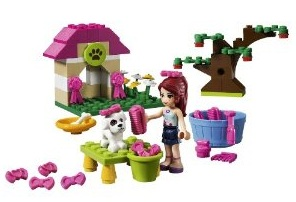 Mia's puppy house lego girls