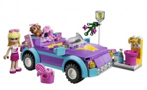 Stephanie's Cool Convertible - Legos for Girls